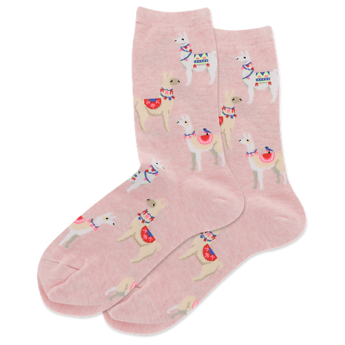 Hot Sox Damen Alpacas Crew Socks