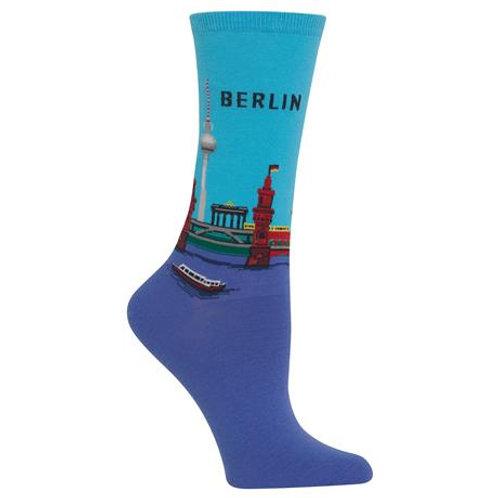 Hot Sox Damen Berlin Crew Socks