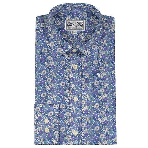Liberty Shirt Blue Floral