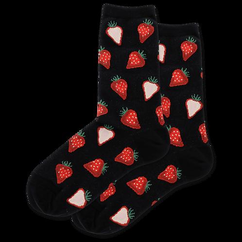 Hot Sox Damen Erdbeeren
