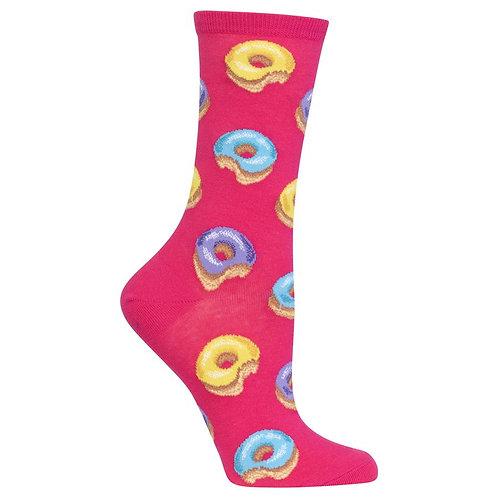 Hot Sox Damen Donut Crew Socks