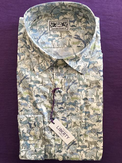 Liberty Shirt Safari Blue