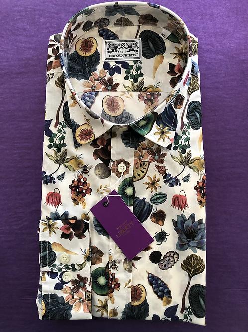 Liberty Shirt Floral Earth
