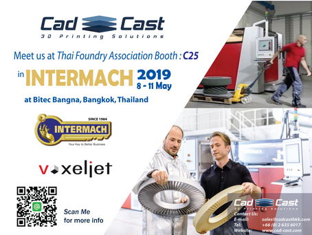 We are glad to invite you to visit us at Thai Foundry Association Booth
