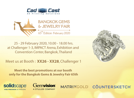 Welcome to Bangkok Gems and Jewelry Fair 65th
