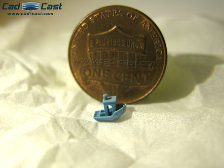 Tiny print of the week: the Benchy boat