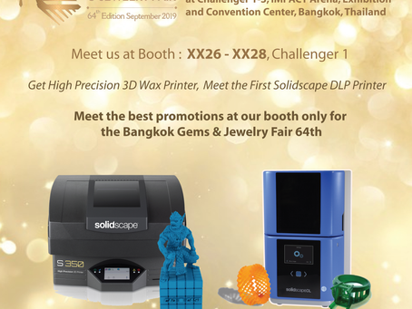 Get High Precision 3D Wax Printer and Meet the First Solidscape DLP