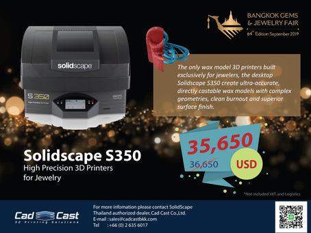 Meet the best promotion of Solidscape S350.