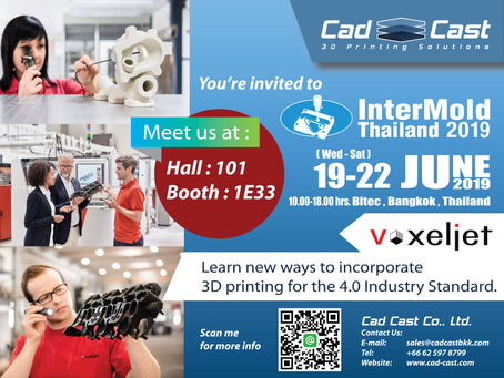 InterMold Exhibition 2019 at Bitec Bangna, Bangkok Thailand