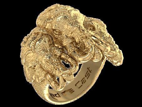 Cad Cast Design Showcase: Elephant Ring