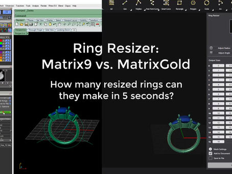 MatrixGold RING RESIZING