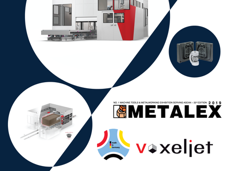 Our booth -- AP04, Hall 99 at METALEX 2019