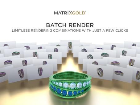 Using the Batch Render tool with Matrix Files - MatrixGold Tutorial
