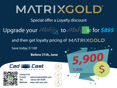 MatrixGold with loyalty pricing