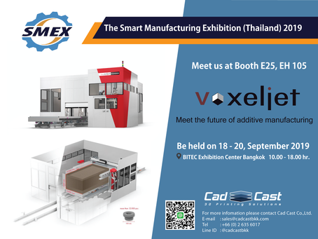 The Smart Manufacturing Exhibition (Thailand) 2019