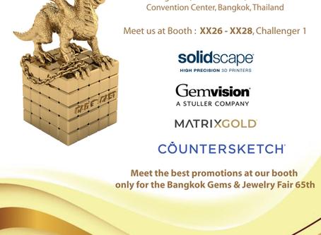 Bangkok Gems & Jewelry Fair 65th 2020‼️