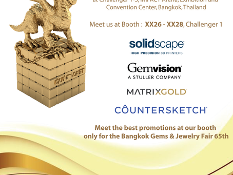 Bangkok Gems & Jewelry Fair 65th 2020‼️
