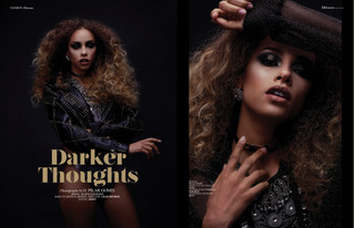 "Editorial ELLEMENTS magazine - ""DarkerThoughts"""