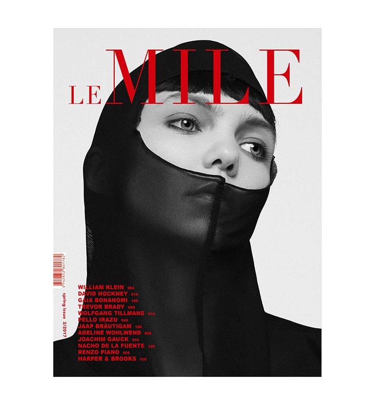 LeMile Magazine cover Spring issue #22