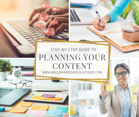 A Step-By-Step Guide To Planning Your Content