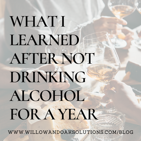 What I Learned After Not Drinking Alcohol For A Year