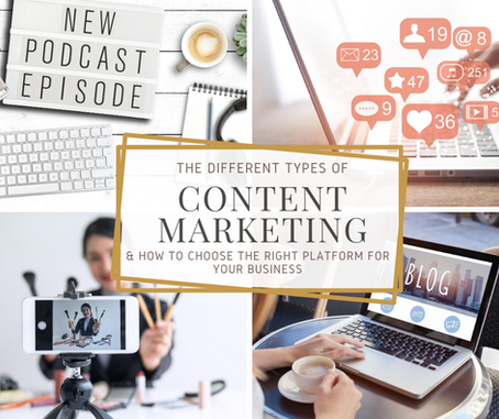 Types of Content Marketing & Choosing the Best Ones For Your Business