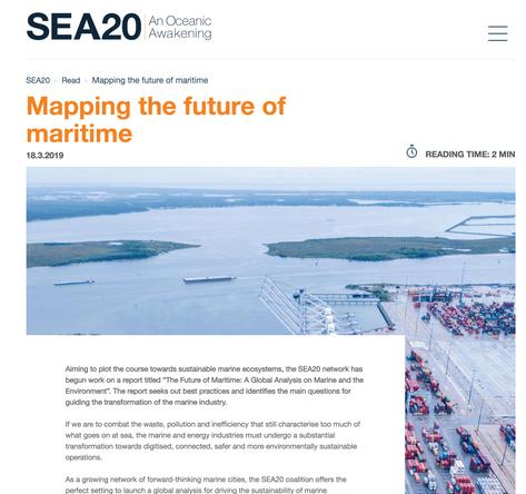 SEA20 website
