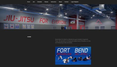 Gracie Barra Fort Bend Website