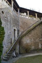 Aufgang zum Burgturm