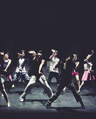 La coreografía de Hip Hop