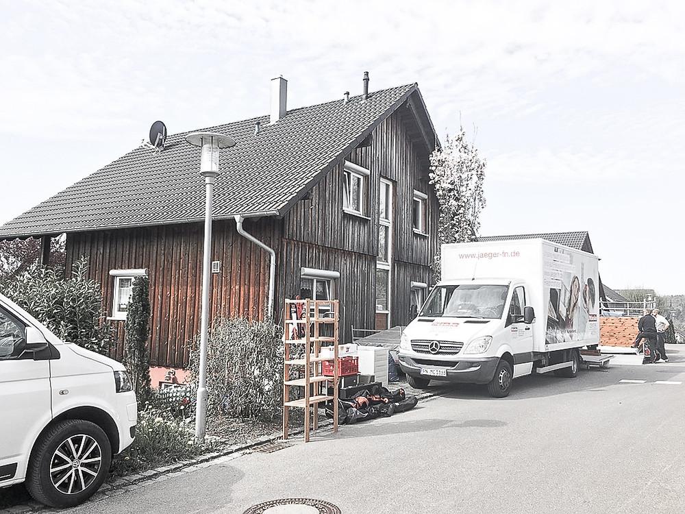 Mediendesignerin Natalie Baumbusch zieht im April 2019 von Ebenweiler nach Friedrichshafen.