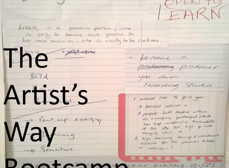 The Artist's Way bootcamp with Julia Cameron
