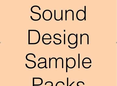 Sound Design Sample Packs