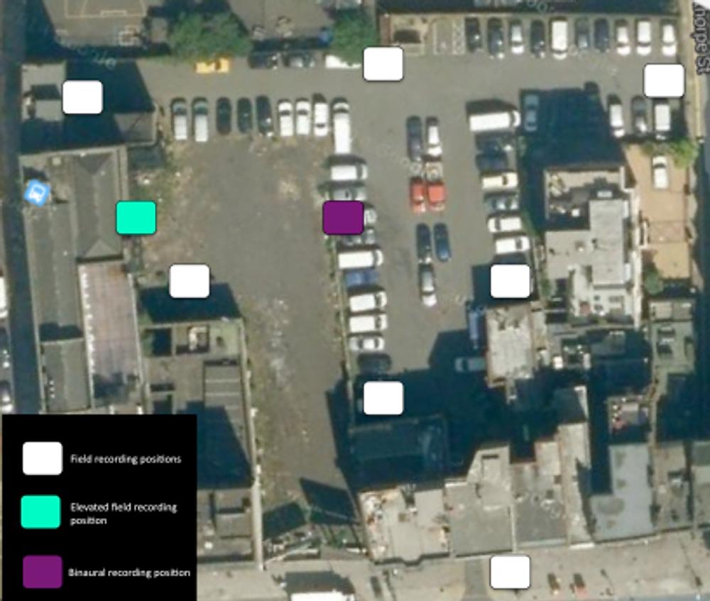 carpark heaven recording positions map