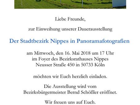 Nippes in Panoramafotografien -Dauerausstellung