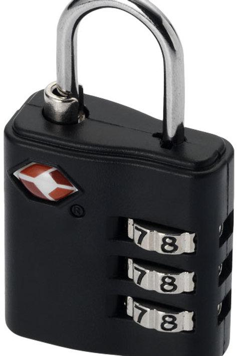 Cadenas agréé TSA pour bagages, noir
