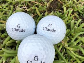 Gravure sur balles de golf