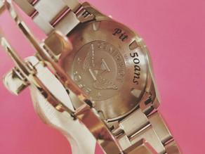 Gravure sur montre