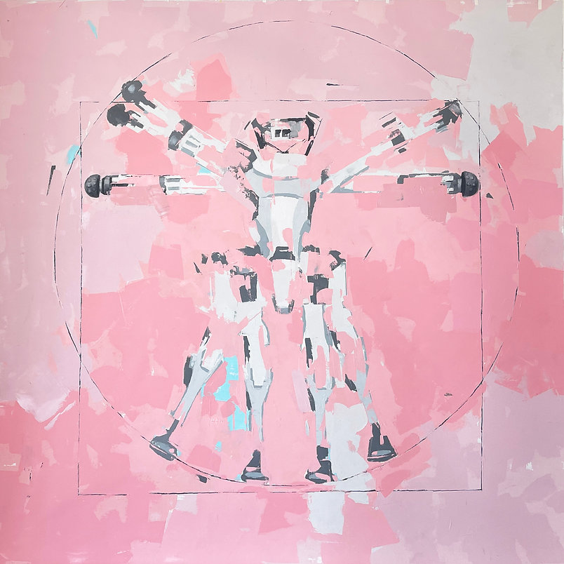 vitrurian man in pink 78 x 78.jpg