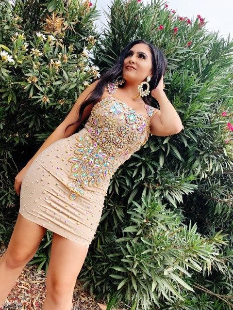 Luxe Gold Dress