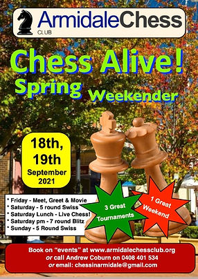 Chess Alive Spring Chess Tournaments - 1