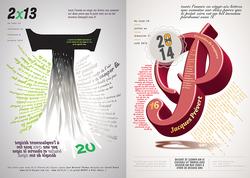 Abécédaire - Illustration Typo