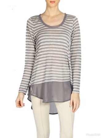 Areve Stripped Tunic