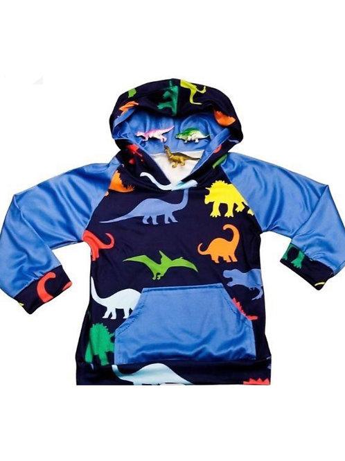 Multi Color Dinosaur Hoodie