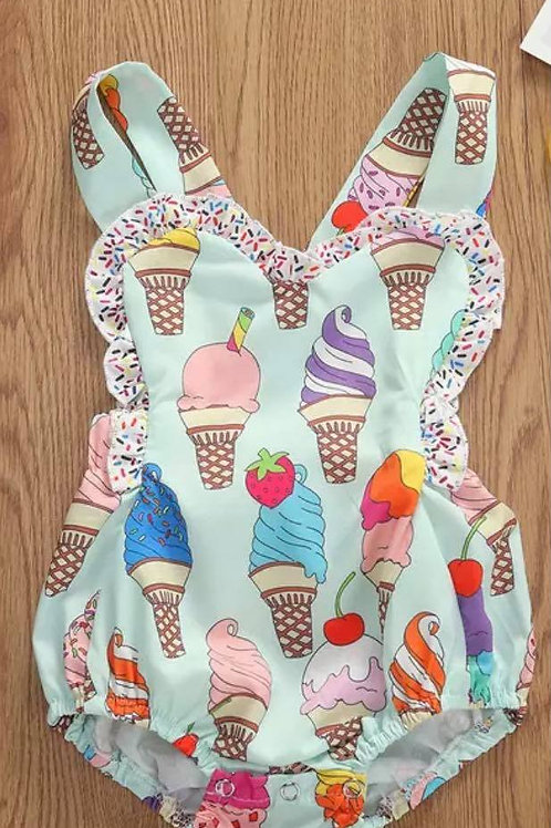 Ice Cream Romper