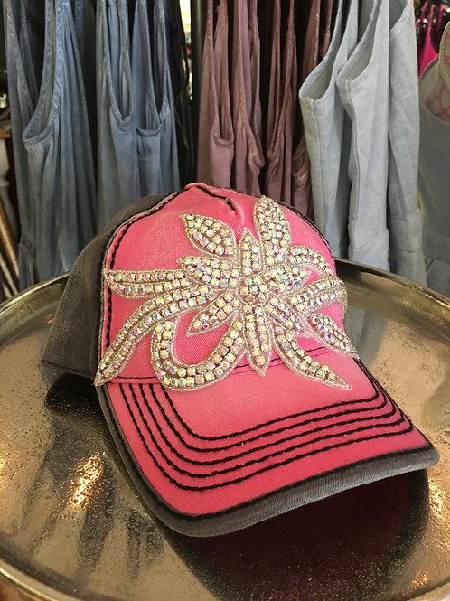 Pink Bling Hat