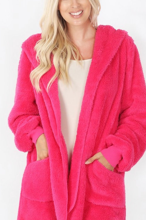 Medium Weight Hot Pink Jacket