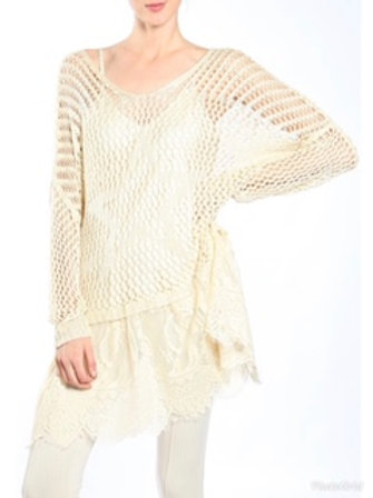 Areve Crochet & Lace Overlay
