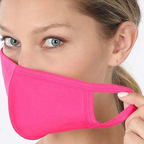 Washable Cotton Filter Pocket Mask