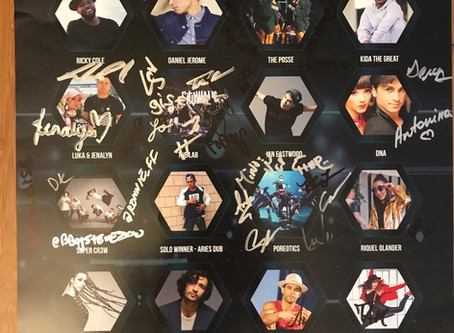 'World of Dance' Signed Poster Giveaway